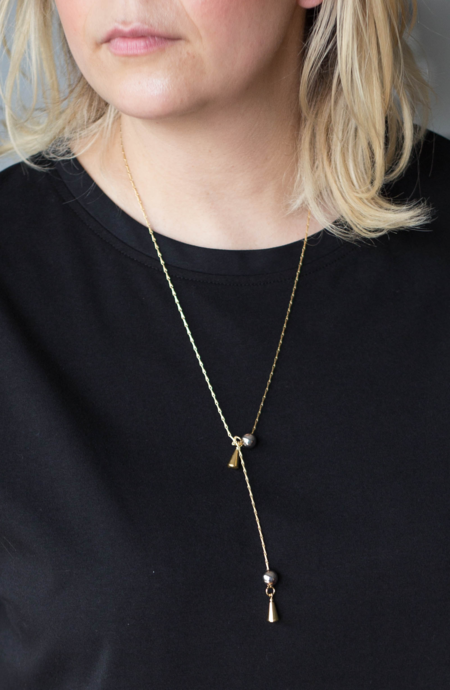 Alynne Lavigne Cliplink Tie Necklace