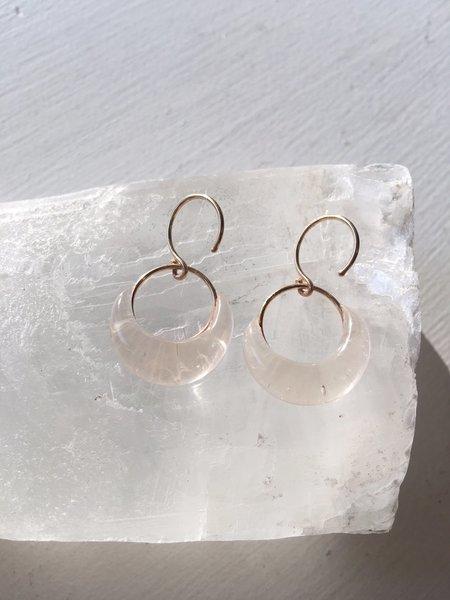 Verre Modern Glass Earrings - GOLD