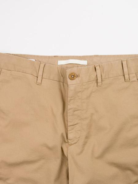 Norse Projects Aros Slim Light Stretch Utility Chino - Khaki
