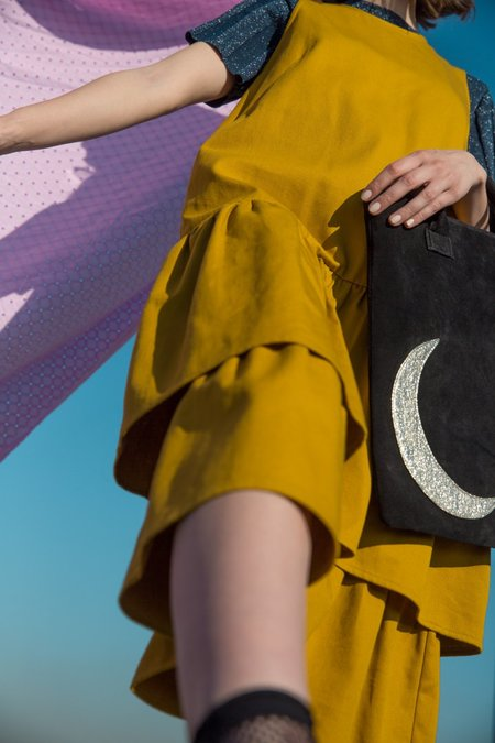 CAB Collection Moon Tote - Black