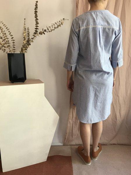 Melissa Nepton Jima Dress - Rayé Bleu