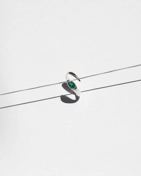 Knobbly Studio Mayim Ring - Malachite