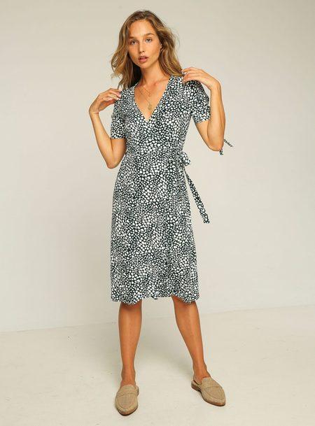 Rue Stiic Albany Wrap Dress - Teal