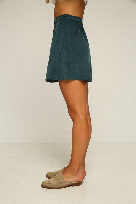 Rue Stiic Sundance Skirt - Teal