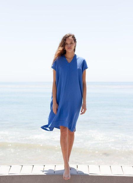 Atelier Delphine Crescent Dress - Blue