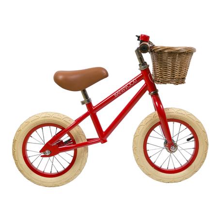 Kids Banwood FIRST GO! Bike - Red