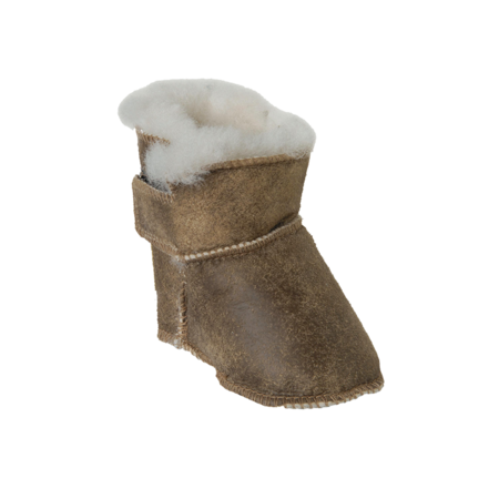 Kids Unisex Shepherd of Sweden Boras Slipper - Antique Creme