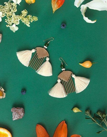 ORA-C jewelry MALEA Earrings - Bronze