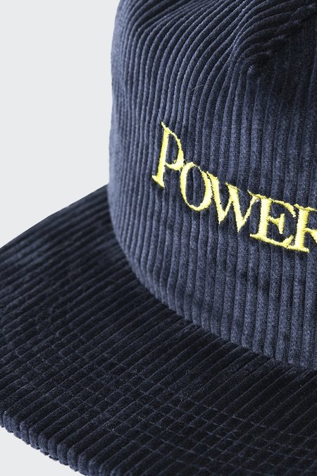 Powers Cord Spell Out Cap - Navy