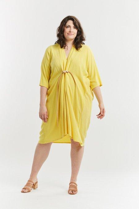 Miranda Bennett Rayon O'Keeffe Dress - Palma