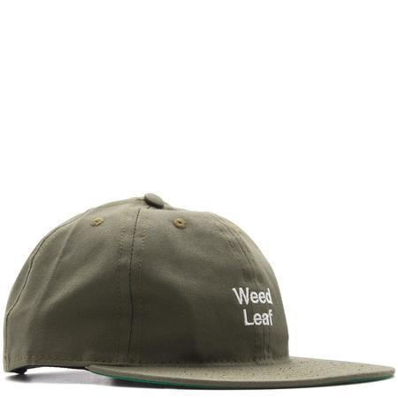 Mister Green x Cody Hudson Weed Leaf Cap - Faded Army