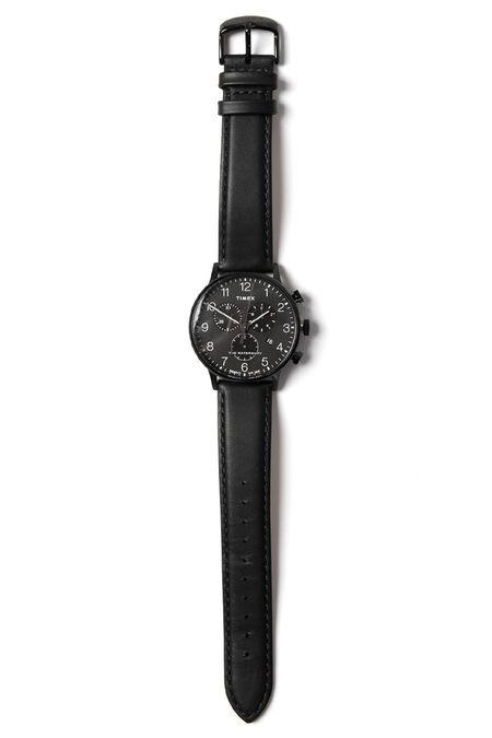 Timex Waterbury Chronograph WATCH - Black
