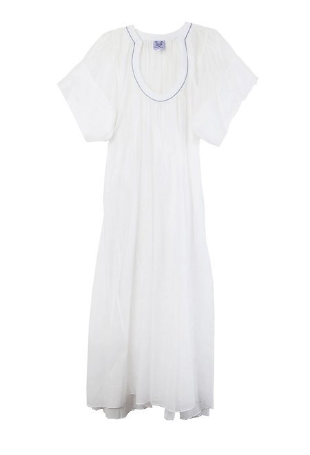 Thierry Colson Shanta Long Dress - White