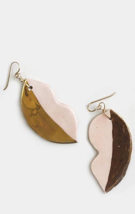 Ippolita Ferrari Ceramic Lip Earring - Pale Pink