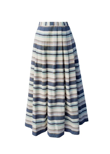 Christine Alcalay Full Pleated Skirt