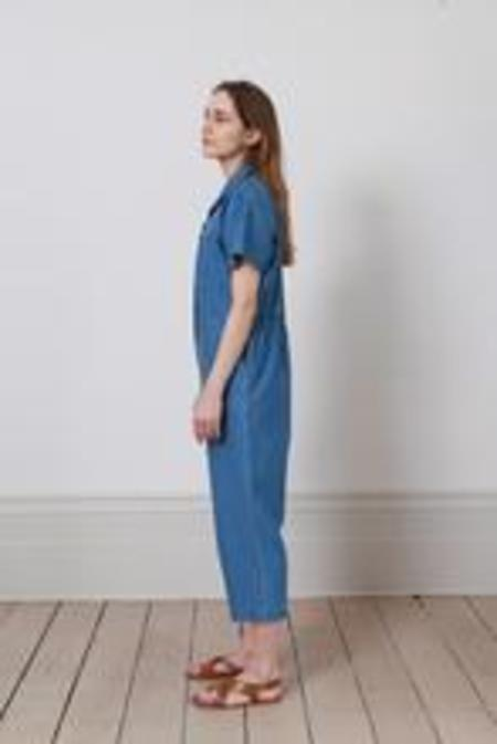 Caron Callahan Foster Jumpsuit  - Blue