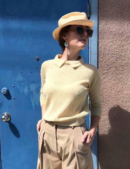 HESPERIOS Everdine Pullover - Straw Yellow