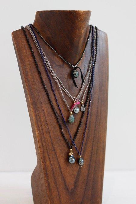 Kakoon #25 Spinel Necklace - Black