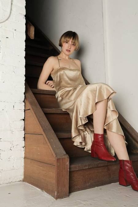 Ajaie Alaie Flamenca Skirt - Oro