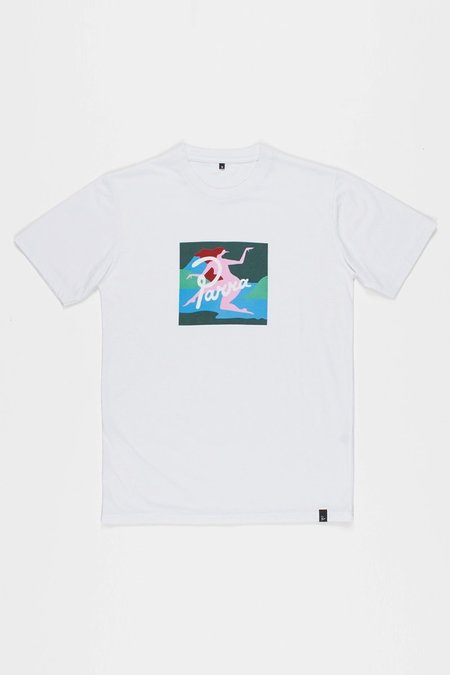 BY PARRA Lagoon T-Shirt - White