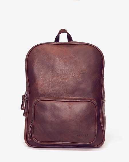 Nisolo Cordoba Backpack - Chestnut
