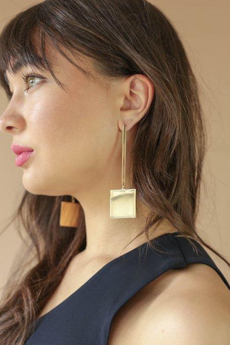 Jennybird Harbor Drop Earrings - 14K Gold