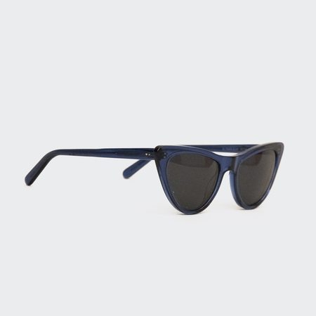 Prism St Louis Sunglasses - Translucent Dark Blue