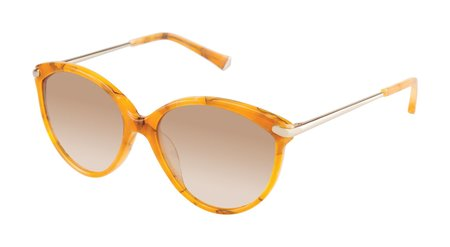 Kate Young for Tura Barbara Sunglasses - Amber