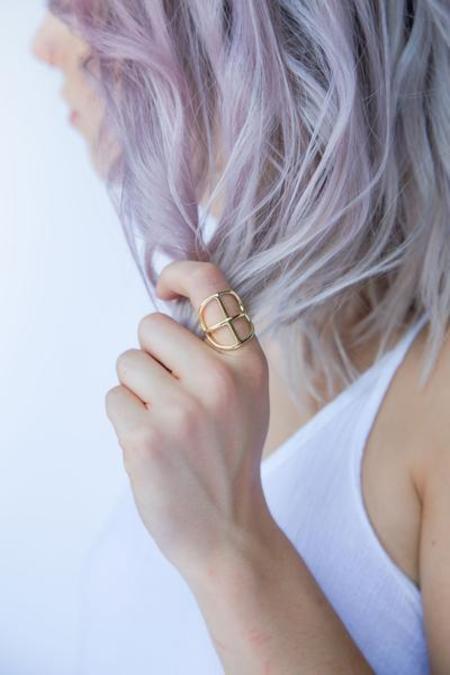 Nina Berenato Jewelry Crux Ring - Gold