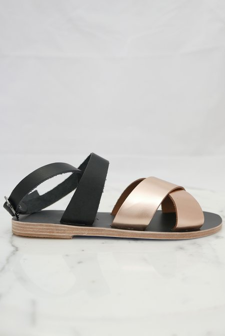 KYMA Patmos Sandals - Black/Bronze