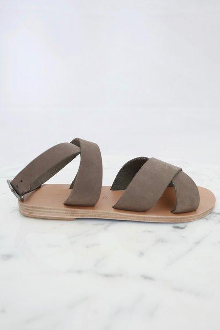 KYMA Patmos Sandals - Grey Suede