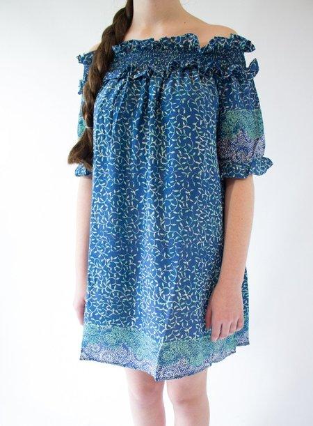 Natalie Martin Pilar Dress - Azure
