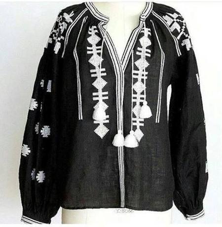 Fanm Mon Vita Kin Blouse - Black