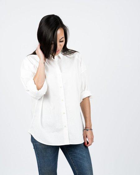 Seldom Seen Oversized Shirt - White