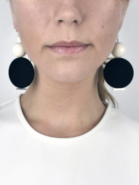 In God We Trust Miro Madre Earrings