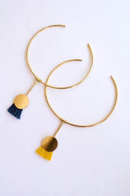 Anna Monet Firebird Necklace - Indigo