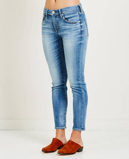 RED CARD 25TH ANNIVERSARY AKIRA JEANS - WORN MID