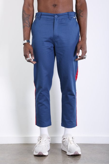 Dickies Construct Slim Stripe Trousers - OG Airforce Blue