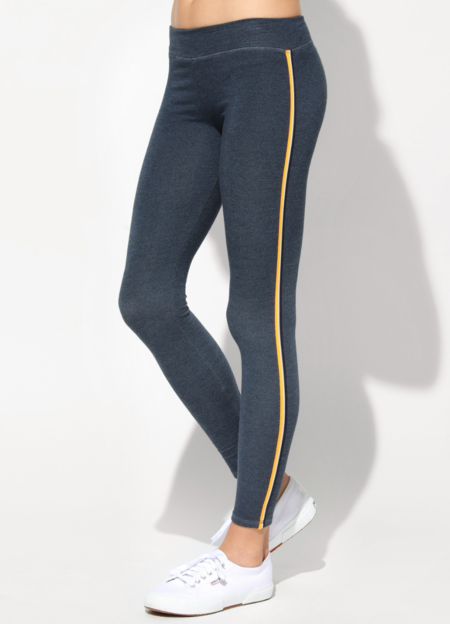 Sundry Yoga Pants with Side Trim