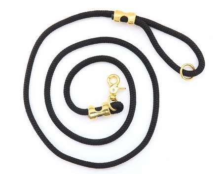 The Foggy Dog Onyx Marine Rope Leash