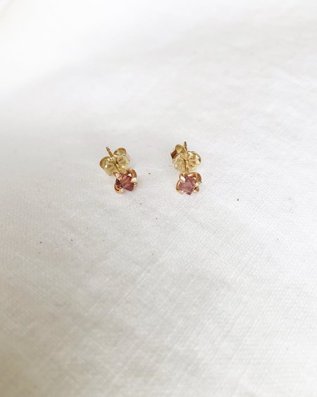 variance ROSE SPINEL - small stone studs