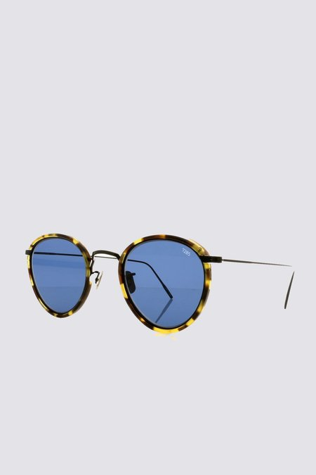 Eyevan 7285 Metal 717 Sunglasses - Blue Tortoise