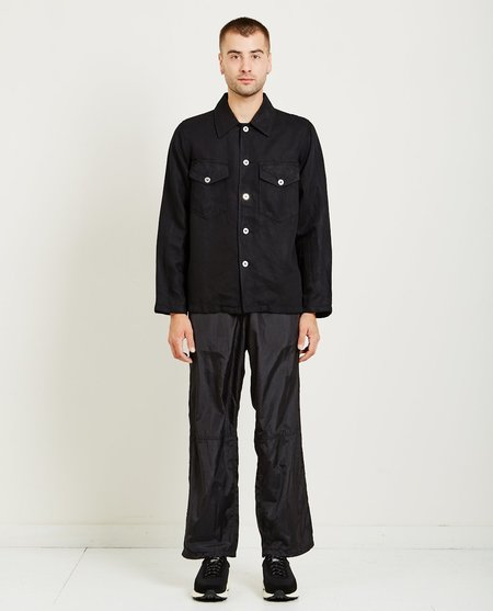 Our Legacy DE CON JACKET - liquid black denim