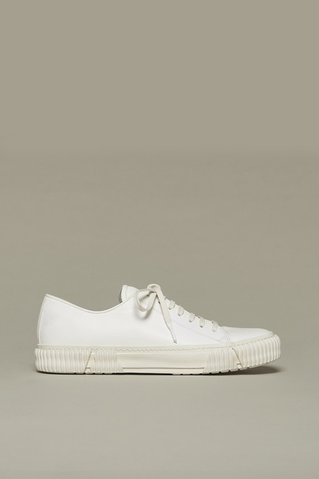 BOTH PARIS Horse Leather Sneakers - White