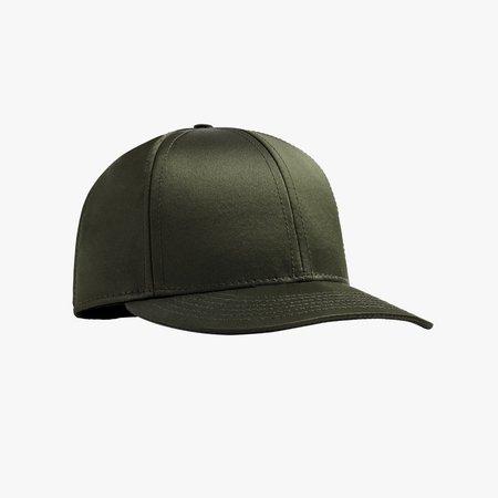 Normal Objects N-C Satin Cap - Dark Olive
