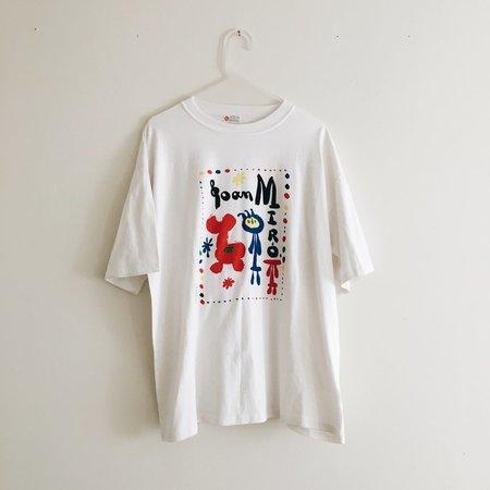 Le Market Vintage Joan Miró Galerie Tee