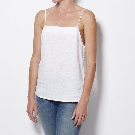 Matin Square Neck Top - White
