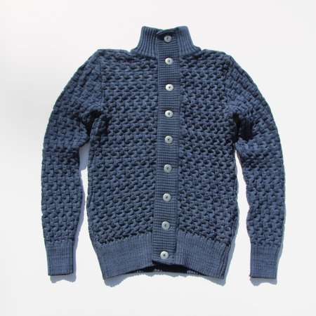 SNS Herning Stark Cardigan - Spatial Blue