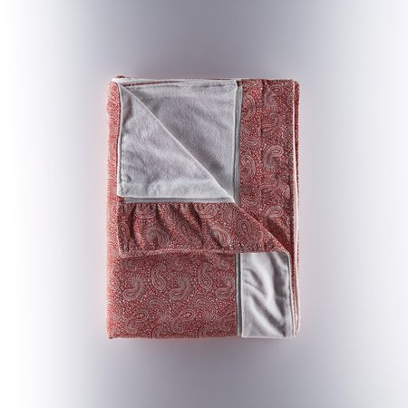 Onia Tilden Towel - RED PAISLEY