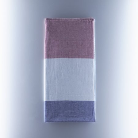 Yoshii Tri Tone Chambray Towel - Blue/Red